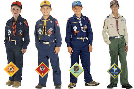 Nouveau placement de patch uniforme scout